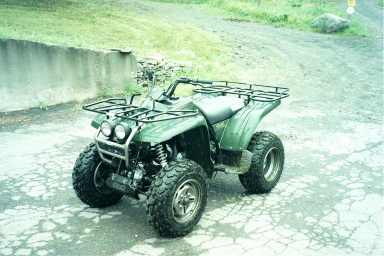 2001 yamaha wolverine